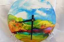 Hand Painted Clocks