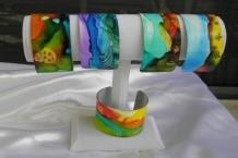 Painted Bracelet Cuffs
