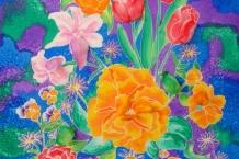 Silk Paintings